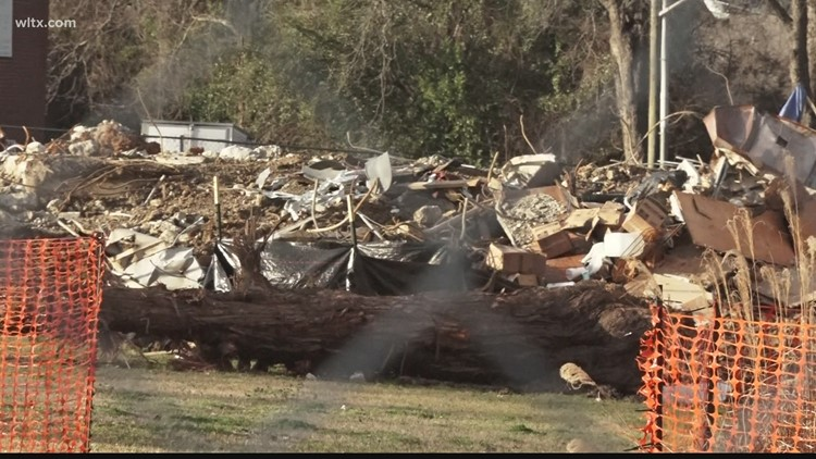 SC State University tearing down two historic student dorms