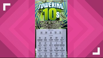 Columbia man left speechless after scratching a $250,000 prize