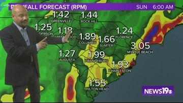 Tropical Storm Nestor to bring rain to South Carolina