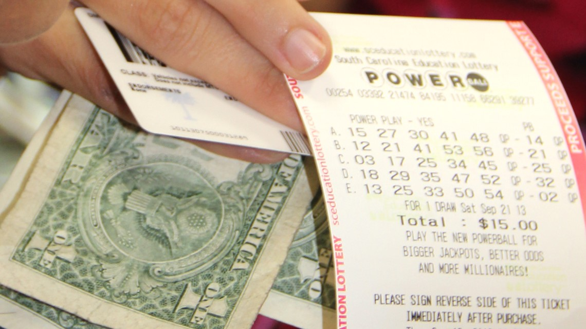 $50,000 Powerball ticket sold in South Carolina