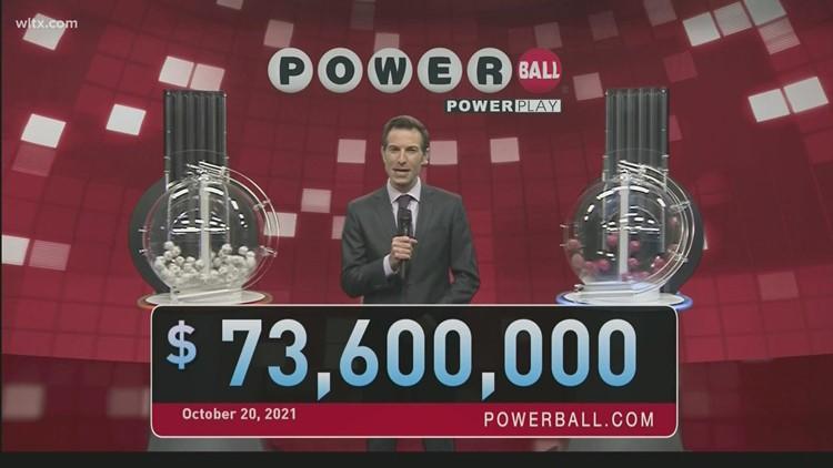 Powerball: October 20, 2021