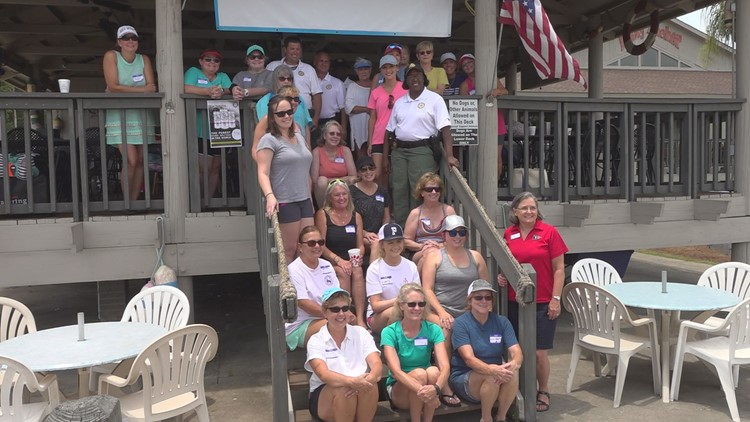 'We focus on ladies to make sure they're comfortable': Women learn boating safety on Lake Murray