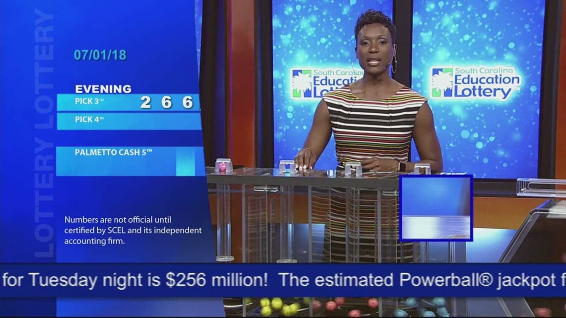Evening Lottery Results July 1, 2018