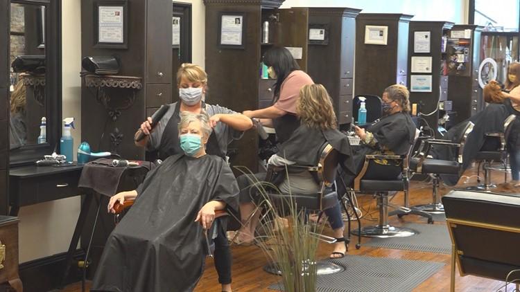 Salons Reopening South Carolina