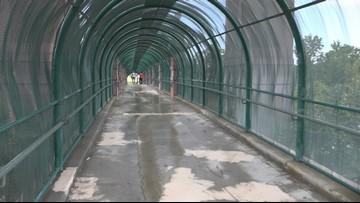 People afraid to walk Clyburn pedestrian bridge at night due to safety