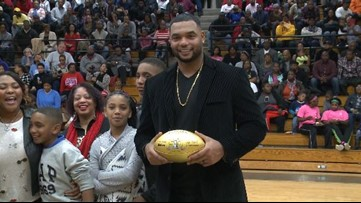Lower Richland grad will be inducted into the Patriots Hall of Fame