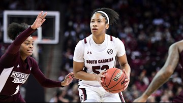 Tyasha Harris named SEC Player of the Week