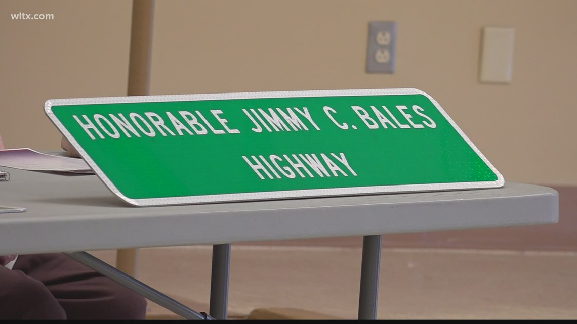 Lower Richland road renamed to honor former legislator