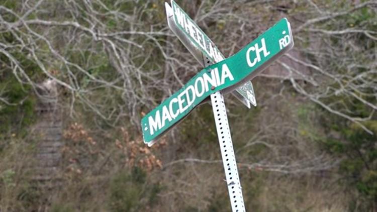 Macedonia Church Road Newberry County