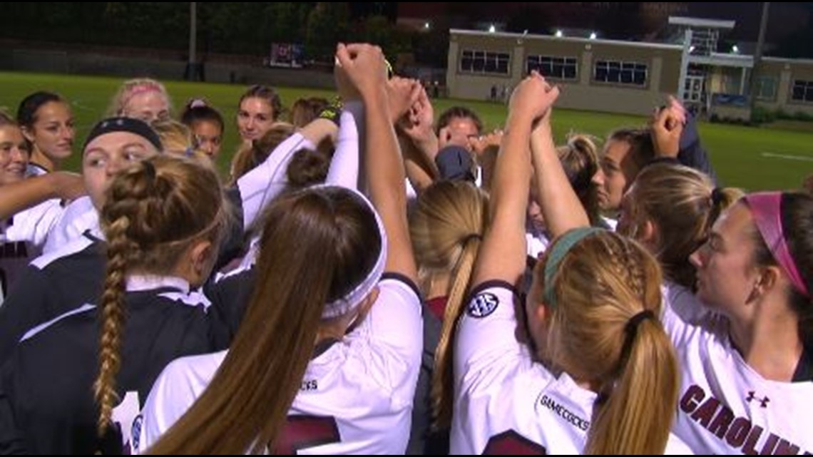 Gamecocks' Women's soccer wins 2019 SEC Tournament