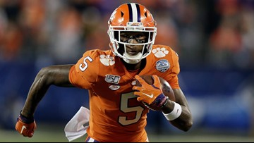 Clemson's Tee Higgins taken with 1st pick on Day 2 of NFL Draft