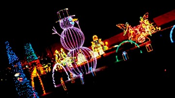 Holiday light show debuts at State Fair in Columbia