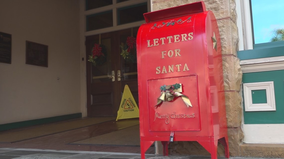 Kids can mail letters to Santa through boxes in Sumter