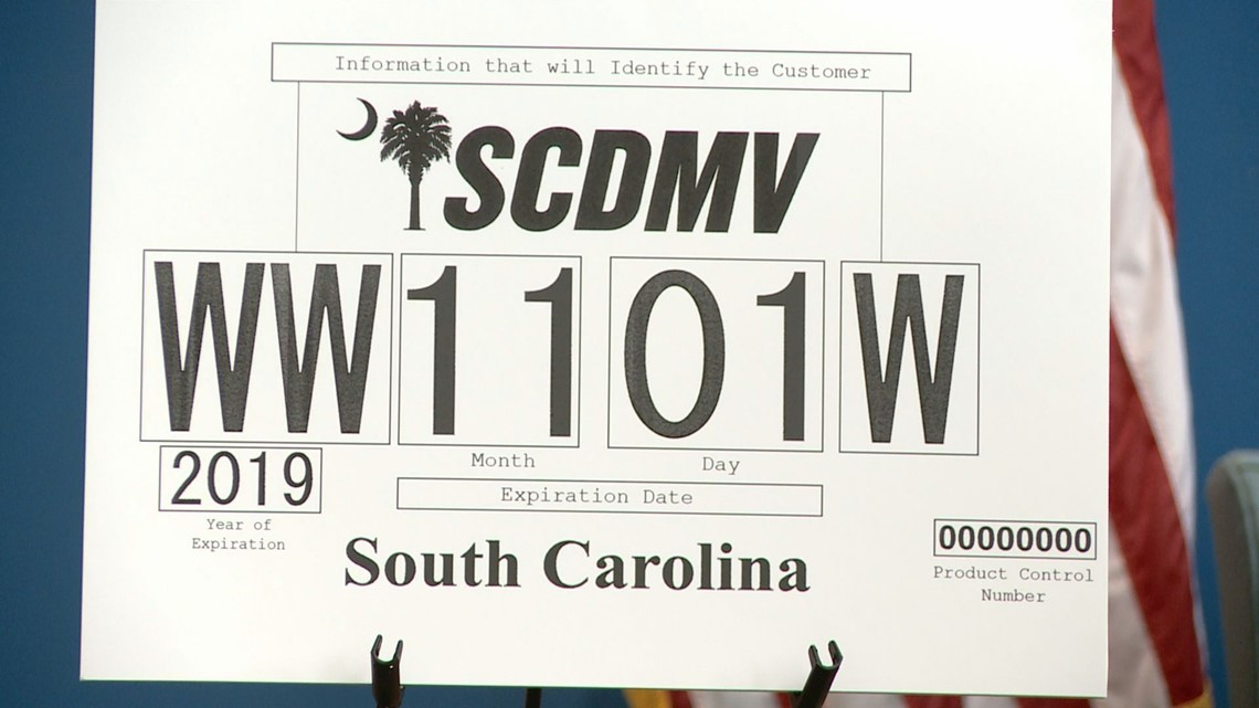graphic regarding Printable Temporary License Plate called DMV, Road Patrol unveil contemporary short term tags