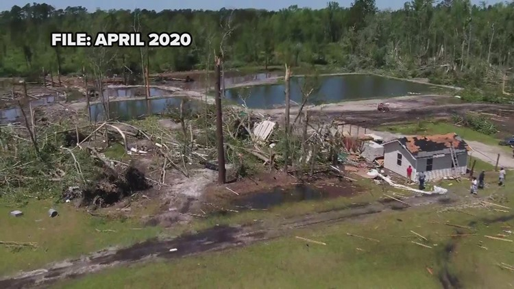 A look back at the April 13, 2020 tornado outbreak