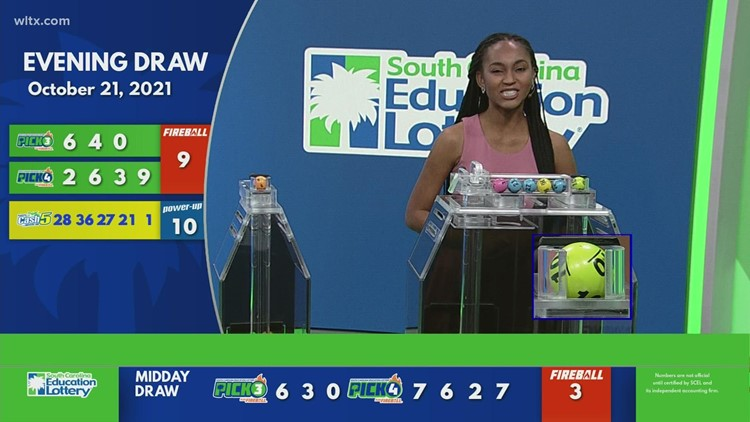 Evening Lottery Results for October 21 2021