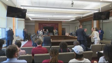 USC board member makes statement on hot mic