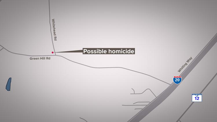 Possible homicide
