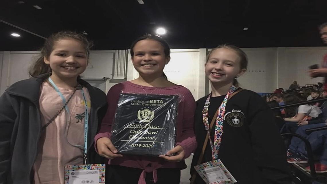 Lexington Four students qualify for National Junior Beta convention