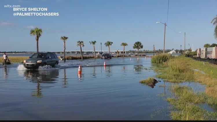 Coastal flooding continues to increase in South Carolina