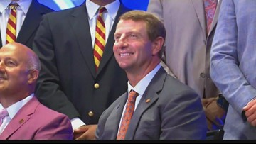 Dabo stands up for the ACC