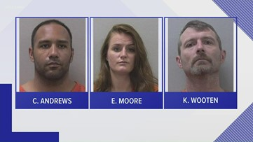 Three people in Lexington county charged with pretending to be cops