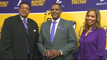 Chennis Berry takes the reigns of Benedict College football