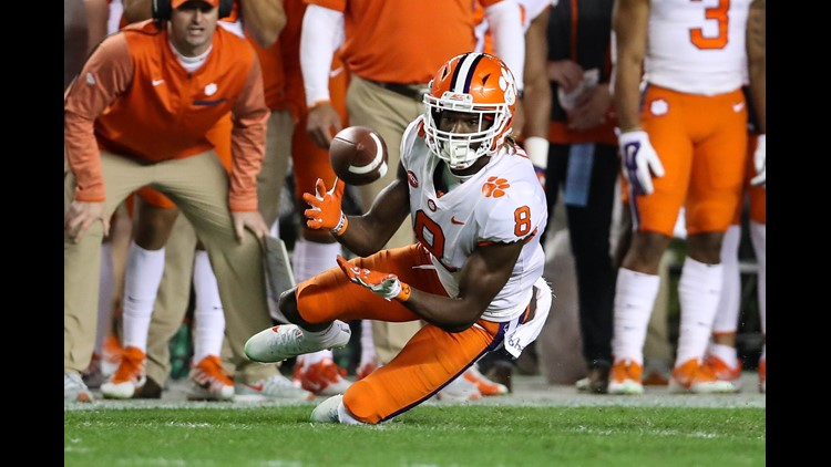 Colts Select Receiver Deon Cain With The 185th Pick