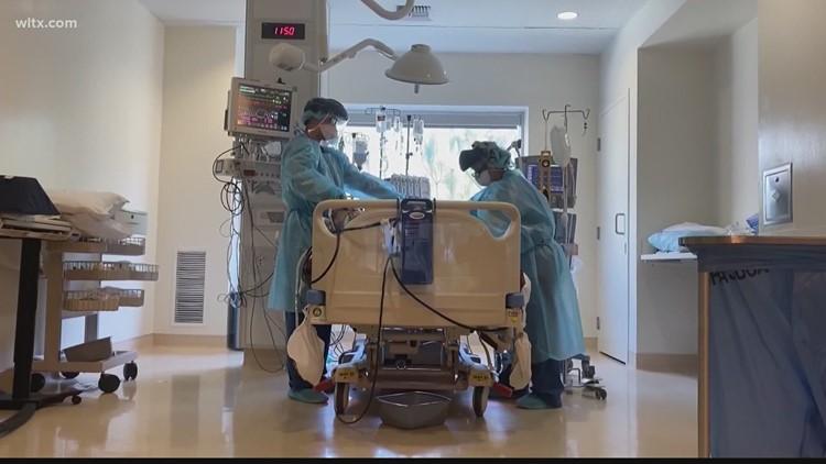 Prisma Health warning of increased COVID-19 hospitalizations