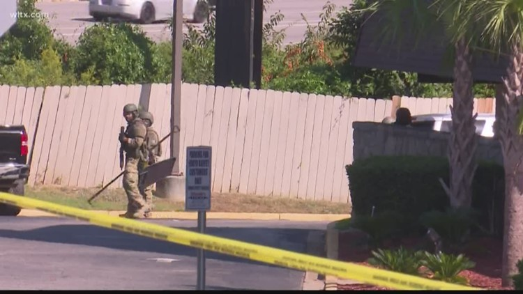 Subject in custody after standoff