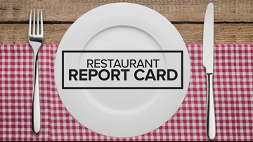 Restaurant Report Card: July 11th