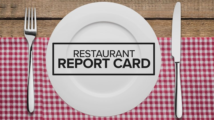 Restaurant Report Card: July 19th