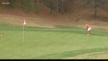 Clemson golfer has a week she won't forget