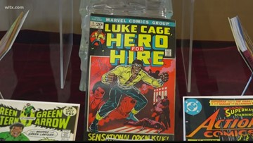 The largest comic book collection is housed at USC, seriously