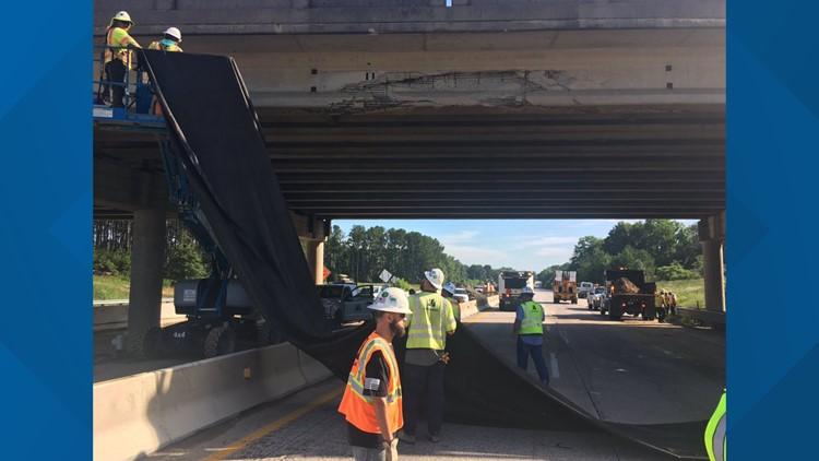 Interstate 20 at Augusta Road Repairs