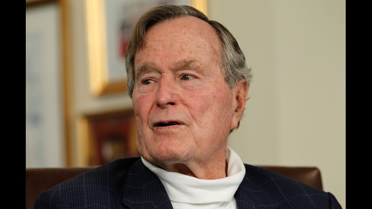George HW Bush moves from ICU to regular patient room