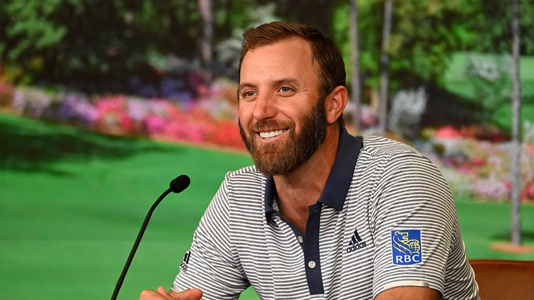 Dustin Johnson chases history in Augusta