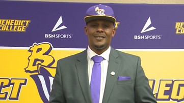 Chennis Berry is already 1-0 at Benedict College