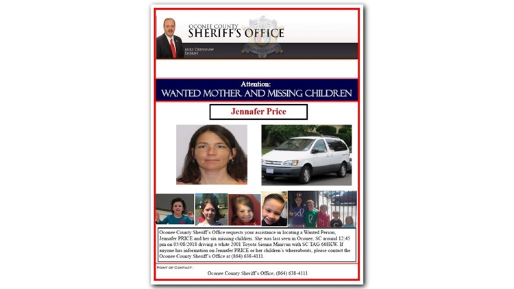 Missing Person Advisory for Jennafer Price and 6 Children_1525944904419.png.jpg
