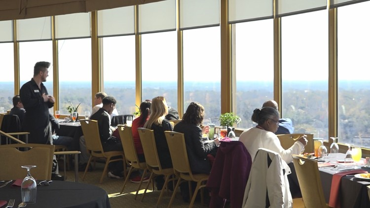 Sky High Spinning Restaurant Gives Columbia Diners A Great