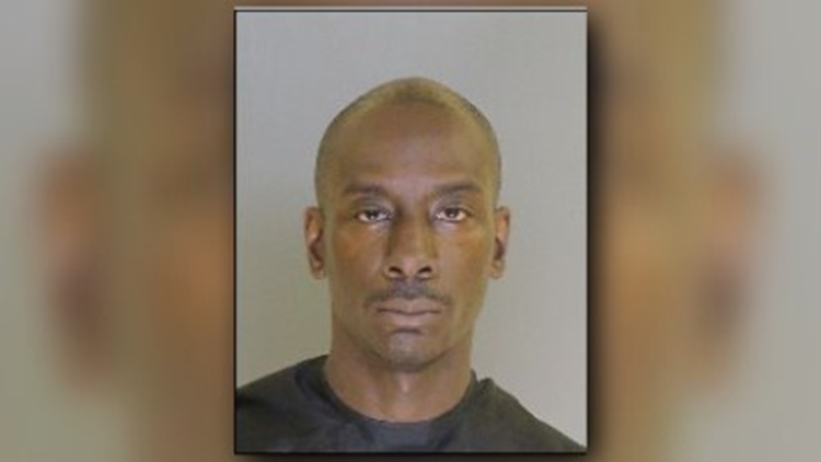 Police say 41-year-old Michael Charles Rose kicked in a plexiglass door at Burgess Do It Center on Dingle Street on June 23.