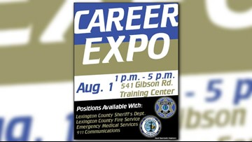 Lexington County First Responders Expo Today