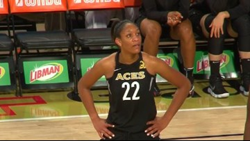 A'ja Wilson Leads Aces To Victory In Season Opener