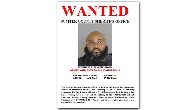 WANTED POSTER for Demetrius Alexander Jones WANTED in Sumter_1534085965447.png.jpg