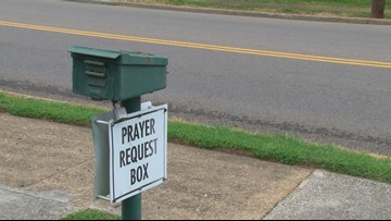 Prayer Request Box Encourages Sharing Needs and Thanks