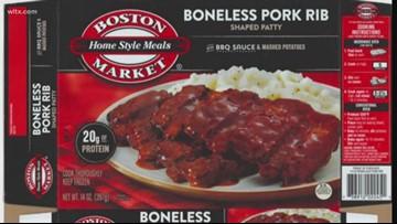Boston Market frozen meals recalled