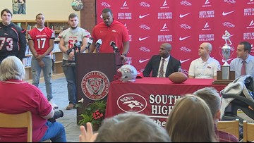 Devonte Holloman takes over at South Point HS