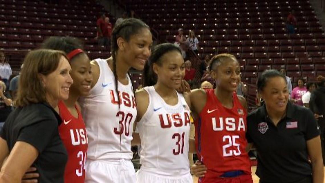 A'ja Wilson Earns Spot On USA Basketball's World Cup Team