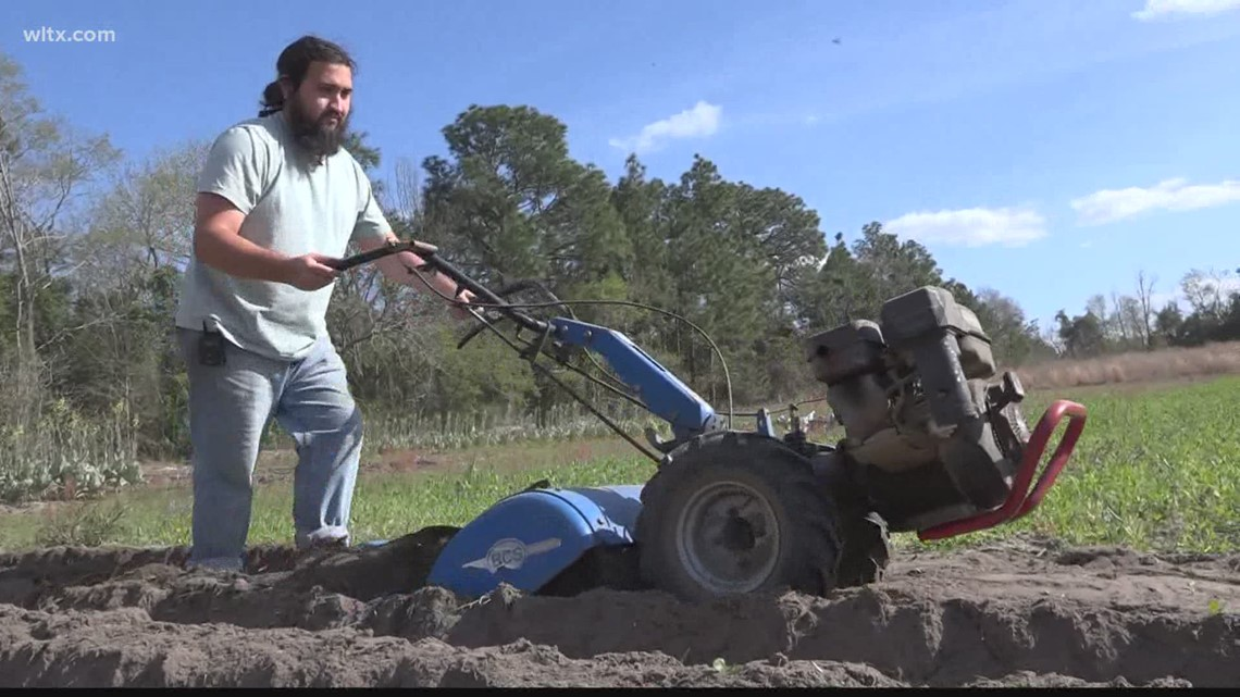 Lexington County land steward's CSA saved his business