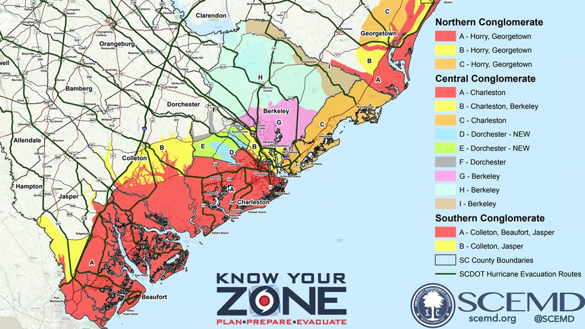 Charleston County Zoning Map on